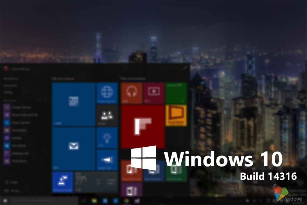 windows 10 preview14316