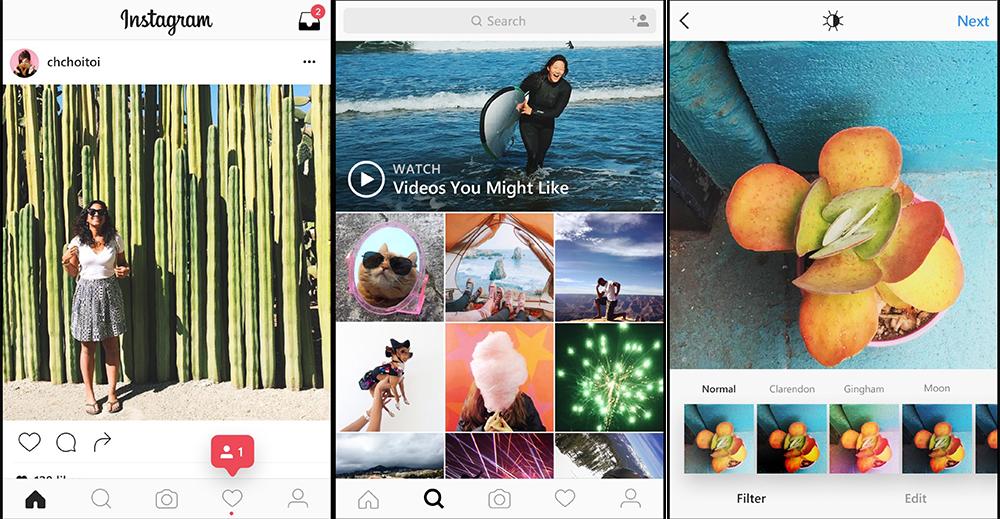 Instagram Windows 10 Mobile版本更新換上新介面設計和新標誌 We Love